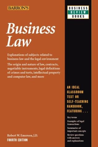 business law robert emerson - 3