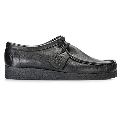 Tower 1000 Black Napa Leather Wallaby Shoes 3AJvI4