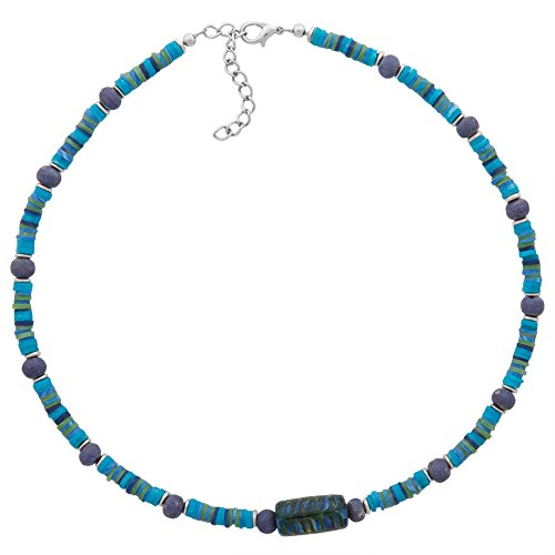 [Glass Bead Necklace] (Necklace Love Beads)
