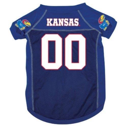 NCAA Kansas Jayhawks Pet Jersey,  X-Large