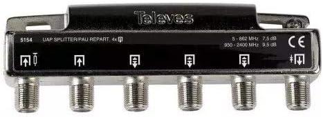 Televes 5154 - Pau+repartidor 4s