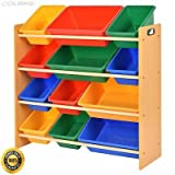 COLIBROX-- Toy Bin Organizer Kids Childrens Storage Box Playroom Bedroom Shelf Drawer Toy Bin Organizer Kids Childrens Storage Box Playroom Bedroom Shelf