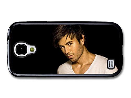 Enrique Iglesias White T Shirt and Black Background Portrait case for Samsung Galaxy S4 mini