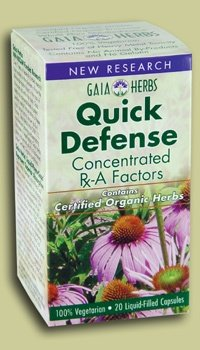 (Quick Defense 40 Capsules)