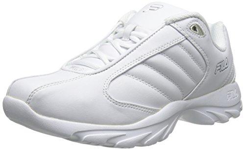 Torino Silver White Shoe Men's Training White 3 Fila Metallic wpqf15