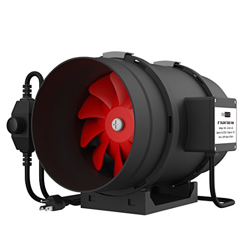8 inline duct fan quiet - 3