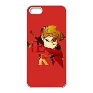 Durable Rubber Cases iPhone 5, 5S Cell Phone Case White Mvbtg Neon Genesis Evangelion Protection Cover