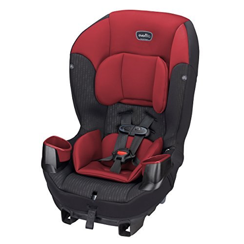 Evenflo Sonus 65 Convertible Car Seat, Rocco Red