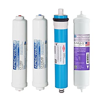 Image of APEC FILTER-MAXCTOP-PH US MADE 90 GPD Complete Replacement Filter Set for ULTIMATE Series Countertop Alkaline Reverse Osmosis Water Filter System