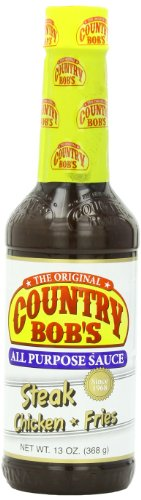 Country Bob's All Purpose Sauce, 13 Ounce