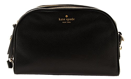 Kate Spade New York Pebbled Leather Darian Mulberry Street Crossbody Shoulder Bag, Black by Kate Spade New York