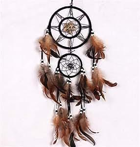 Dream Catchers, Handmade White Dreamcatcher Decor Traditional Circular