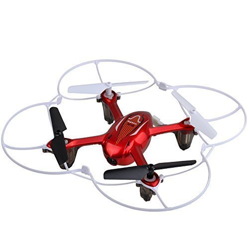 Syma X11C RC Quadcopter with Camera and LED Lights – Red