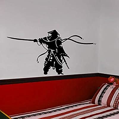 Ajcwhml Kendo Sticker Samurai Decal Japan Ninja Poster Vinyl ...