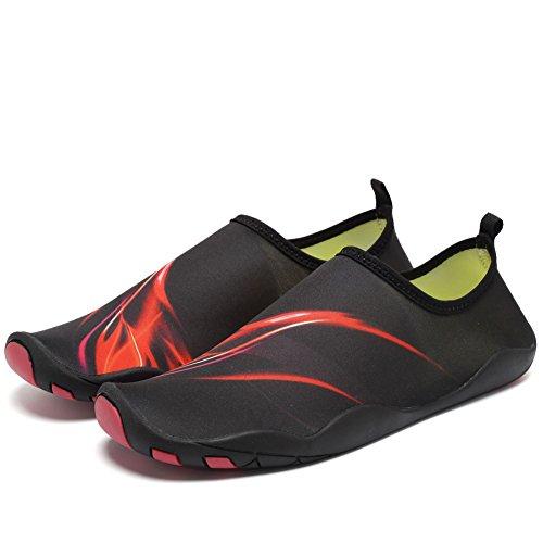 Shoes Driving Yoga Shoes Women Swim Shoes Hy Dry CIOR Quick Beach red Aqua Walking Water Men Boating Barefoot ROqZwUXf