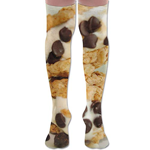 LKJH Homemade Oatmeal Cookie Ice Cream Sandwiches Unisex Socks Premium Soft Fancy Design Multi Colorful Patterned Women Men - Dog Ice Cream Sandwiches