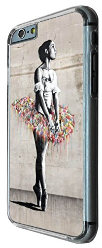 791 - Grafitti Art Belly Dancer Colourful Art Design iphone 6 6S 4.7'' Coque Fashion Trend Case Coque Protection Cover plastique et métal