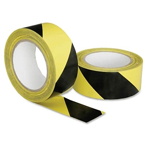 AbilityOne - Floor Safety Tape - Yellow/Black Stripe 7510-01-617-4251
