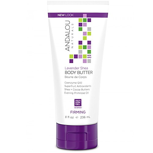 Andalou Naturals Firming Body Butter, With Lavender Shea - 8 Ounce (Best Natural Body Butter)