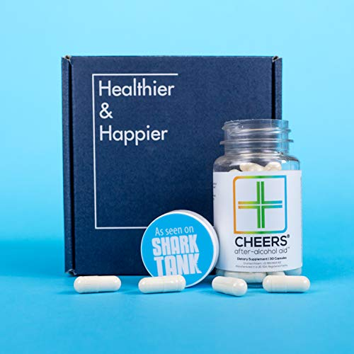 Cheers (Formerly Thrive+) Hangover Cure with Dihydromyricetin (DHM), Hangover Prevention Pills (90 Count) for Morning After Alcohol Recovery - A Flavonoid Supplement with Milk Thistle… by Cheers (Image #4)