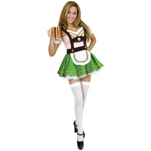 Bavarian Beer Garden Girl Adult Costume - Plus Size 1X]()