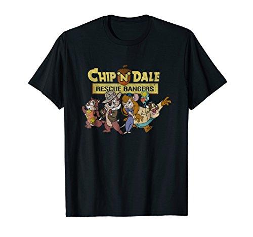 Disney Chip N Dale Goofy Group Rescue T-shirt