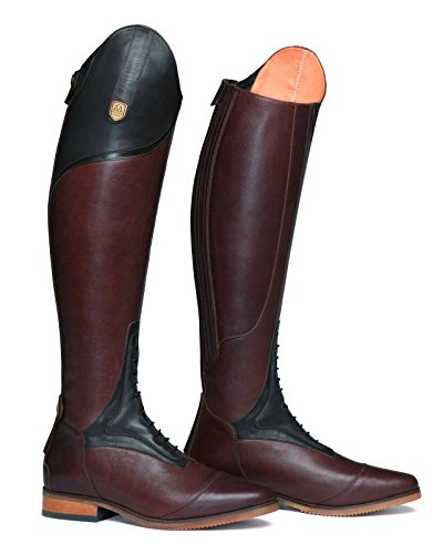 Mountain Horse Sovereign pour femme Haute Rider - Marron : Standard Plus : 40