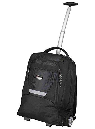 323288 - Lightpak MASTER Laptop Trolley Backpack (Black) for 15.4 inch Laptops