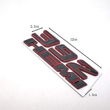 3D Auto Metall Aufkleber Form 392 HEMI Flag Badge Fender Seitent/üren automatisch Flagge Aufkleber