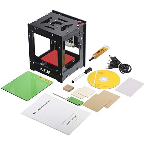 1000mw Mini DIY Laser Engraver Printer Machine Print Logo Picture/Wood /Rubber/Leather
