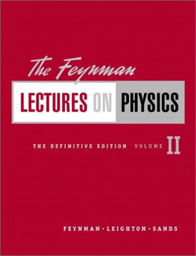 The Feynman Lectures on Physics, The Definitive Edition Volume 2, 2/e (Hardcover)-cover