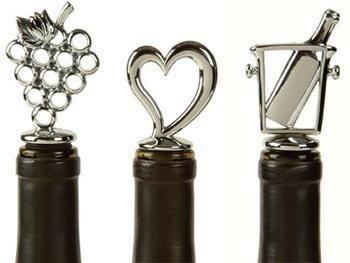 Chrome Heart Bottle Stopper - Love of Wine
