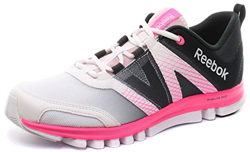Reebok Sublite Duo LX Womens Running Sneakers, Size 12