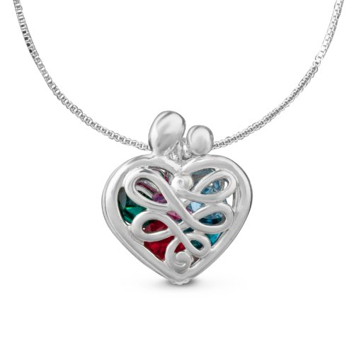 Loving Family Sterling Silver 3/4
