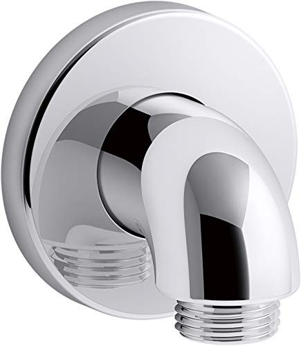 - Kohler K-22172-CP Purist Wall-mount supply elbow, Polished Chrome