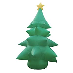 20 Foot Tall Inflatable Christmas Tree with Star