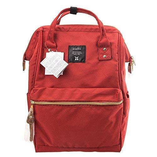 Anello Official Dark Orange Japan Fashion Shoulder Rucksack Backpack Tablet Diaper Bag Unisex