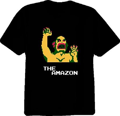 Pro Wrestling The Amazon Nes T Shirt for Men