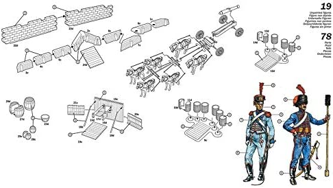 イタレリ 1/72 ナポレオン戦争 フランス砲兵隊コンプリートセット プラモデル IT6031