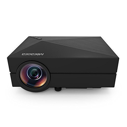 800 Lumens Home Theater Mini Portable Led Multimedia: Price Tracking For: Mileagea GM60 Mini LED Projector 800