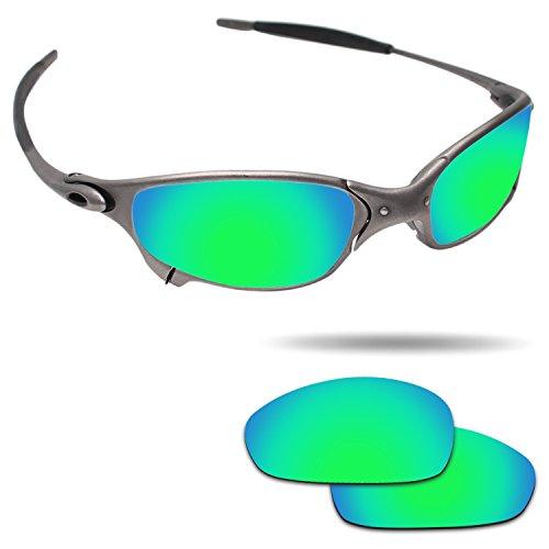 Fiskr Anti-saltwater Polarized Replacement Lenses for Oakley Juliet Sunglasses - Various - Polarized Lenses Are Oakley Prizm