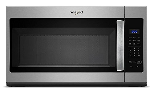 Whirlpool WMH31017HS 1.7 Cu. Ft. 1000W Stainless Over-the-Range Microwave by Whirlpool