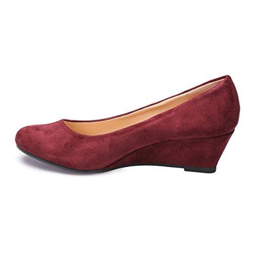 para mujer Rojo Bailarinas Modeuse La zvqFOY