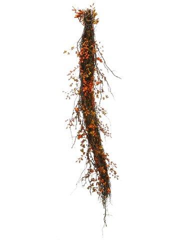 4' Berry Twig Swag Garland Fall (Pack of 2) by Arcadia Silk Plantation (Image #1)