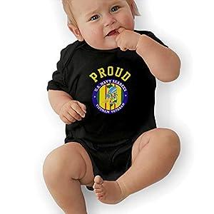 KOKOBABY US Navy Seabees Vietnam Veteran Baby Organic Onesies Organic Bodysuits