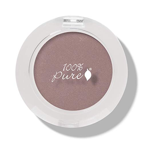 100% Pure Pressed Powder Eye Shadows, Petal Tip, 0.07 -