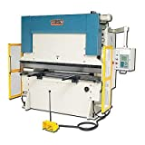 Baileigh BP-9078CNC CNC Hydraulic Press Brake with Delem, 3-Phase 220V, 90 Ton Pressure, 78'' Bending Length