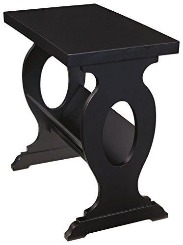end table magazine rack - 3