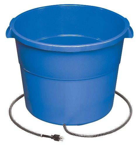 API 16 Gallon 260 Watt Heated Bucket  16HB (16 Gallon Heated Water Buckets For Horses)