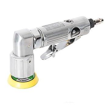 Mini lijadora neumática con cabezal pivotante para compresor (Ref.: 672976): Amazon.es: Jardín